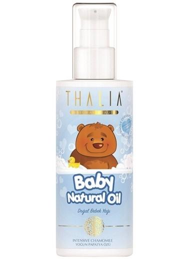 Thalia Thalia Bebe Yaği - Mavi 180 Ml   Vücut Yağı Renksiz